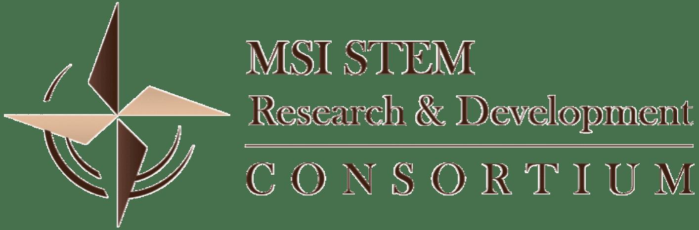 MSI STEM Research & Development Logo